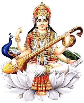 Maa Durga Saraswati