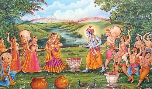 Shyam se Shyama boli, Chalo Khelenge Holi