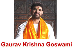 Gaurav Krishna Goswami Bhajan